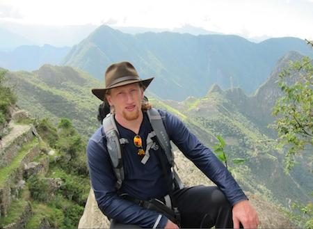 Rob Nelson in Peru p
