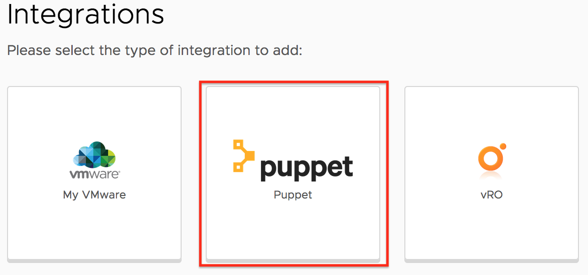 integration puppet