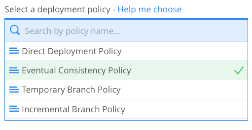 eventual consistency deployment policy cdpe