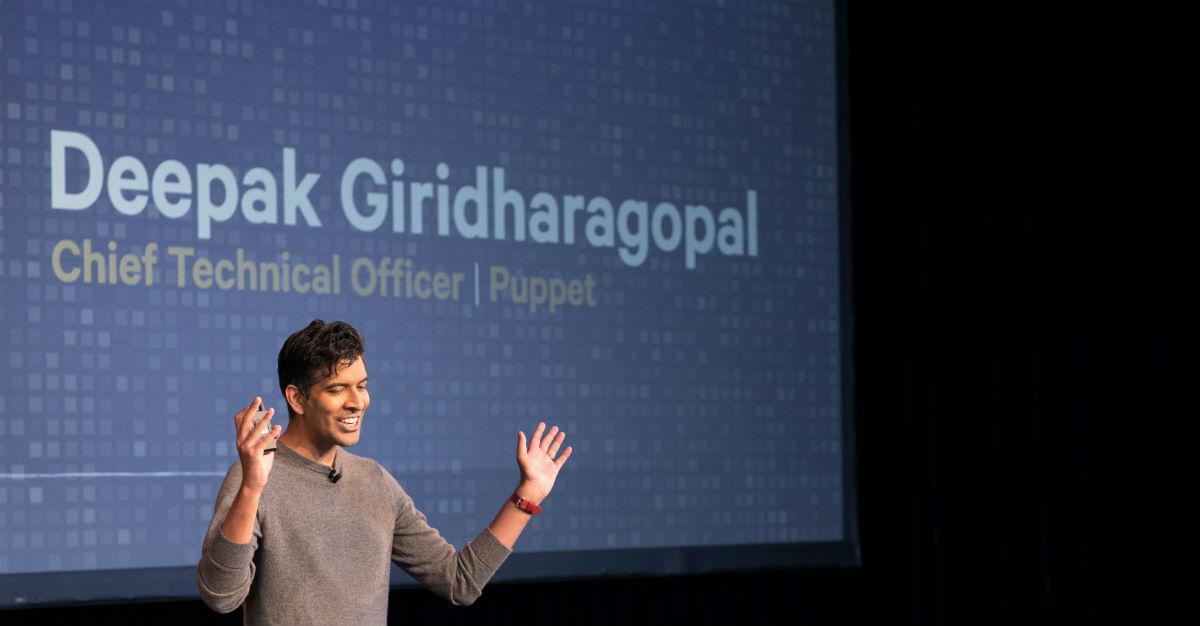 Deepak keynote Puppetize live