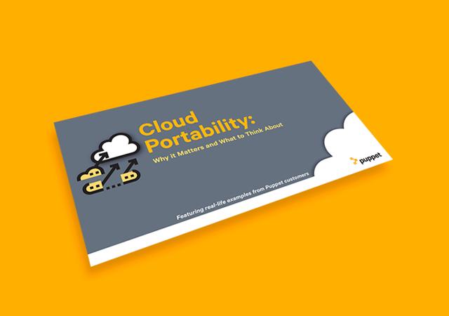 Puppet EB Cloud portability