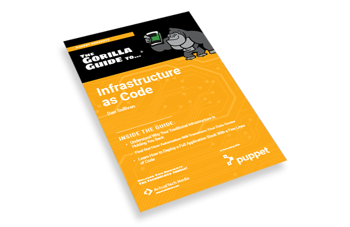 Puppet GG Infrastructure as Code Ebook land