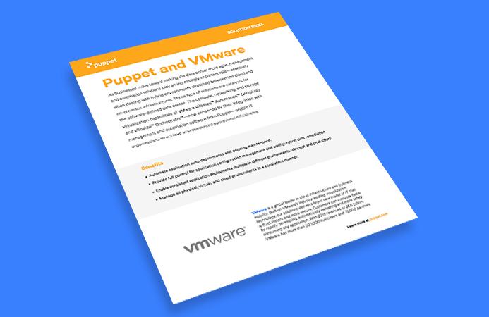 puppet SB VMware RVO plug in