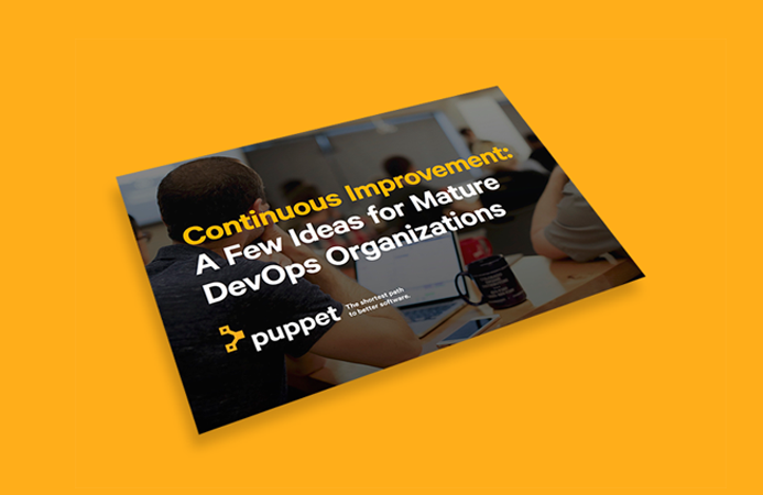 puppet ebook ideas for mature devops organizations