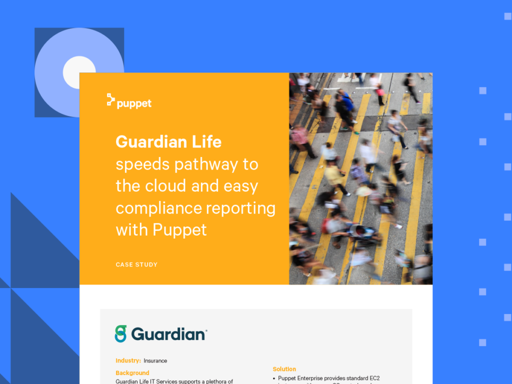 puppet case study guardian life card