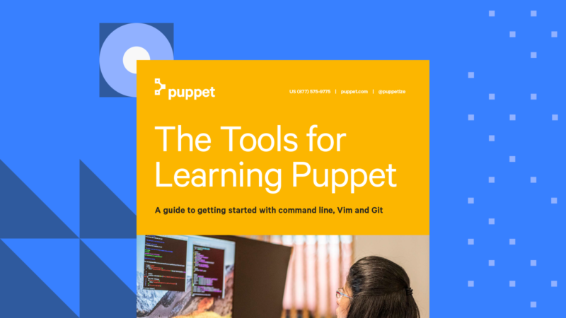 puppet ebook tools for learning puppet CARD