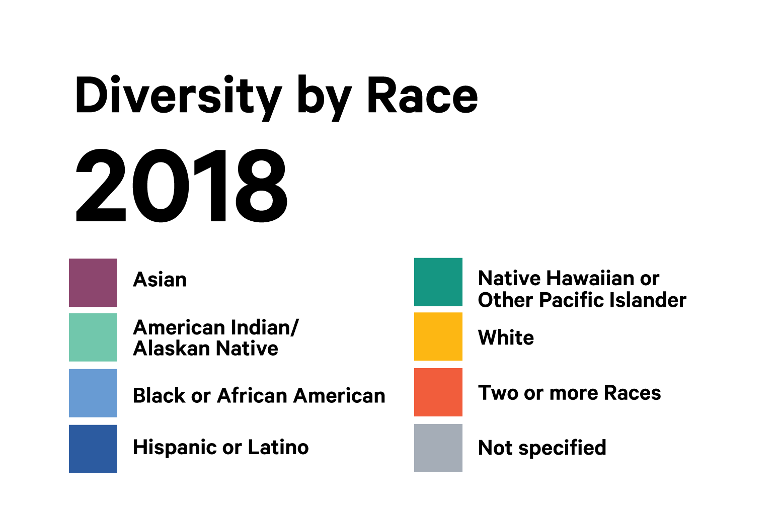 2018 Race Diversity key png