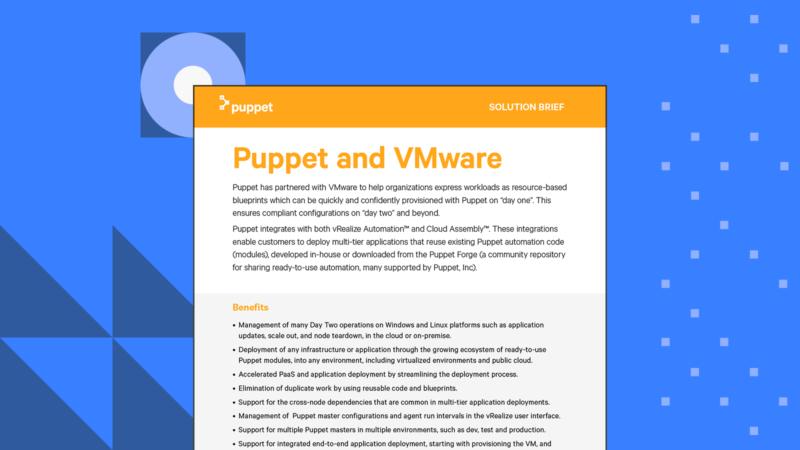 puppet SB VMwarePuppet Card