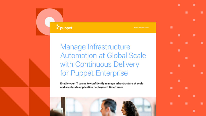 puppet continuous delivery for puppet enterprise eecutive brief Card