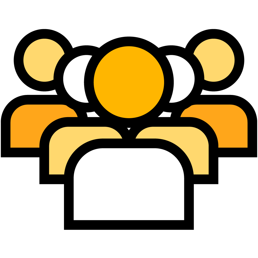puppet icon people group generic k