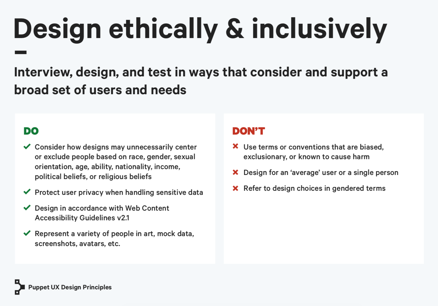 design ethically