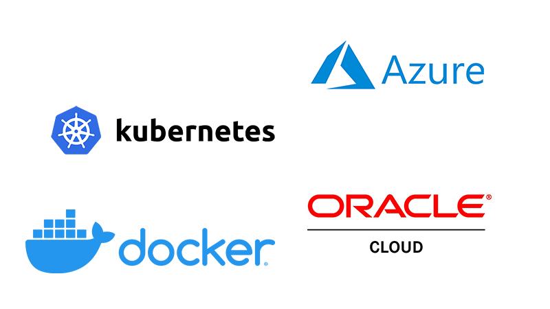 Cloud hybrid automation logo block