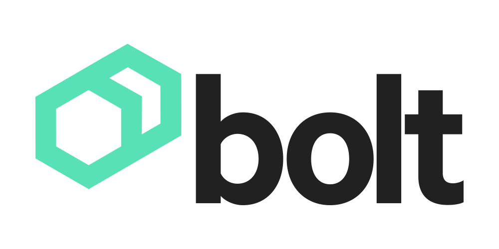 Logo Bolt onWhite without ecess space