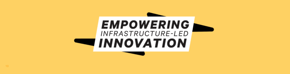 Empowering Infrastructure-led Innovation