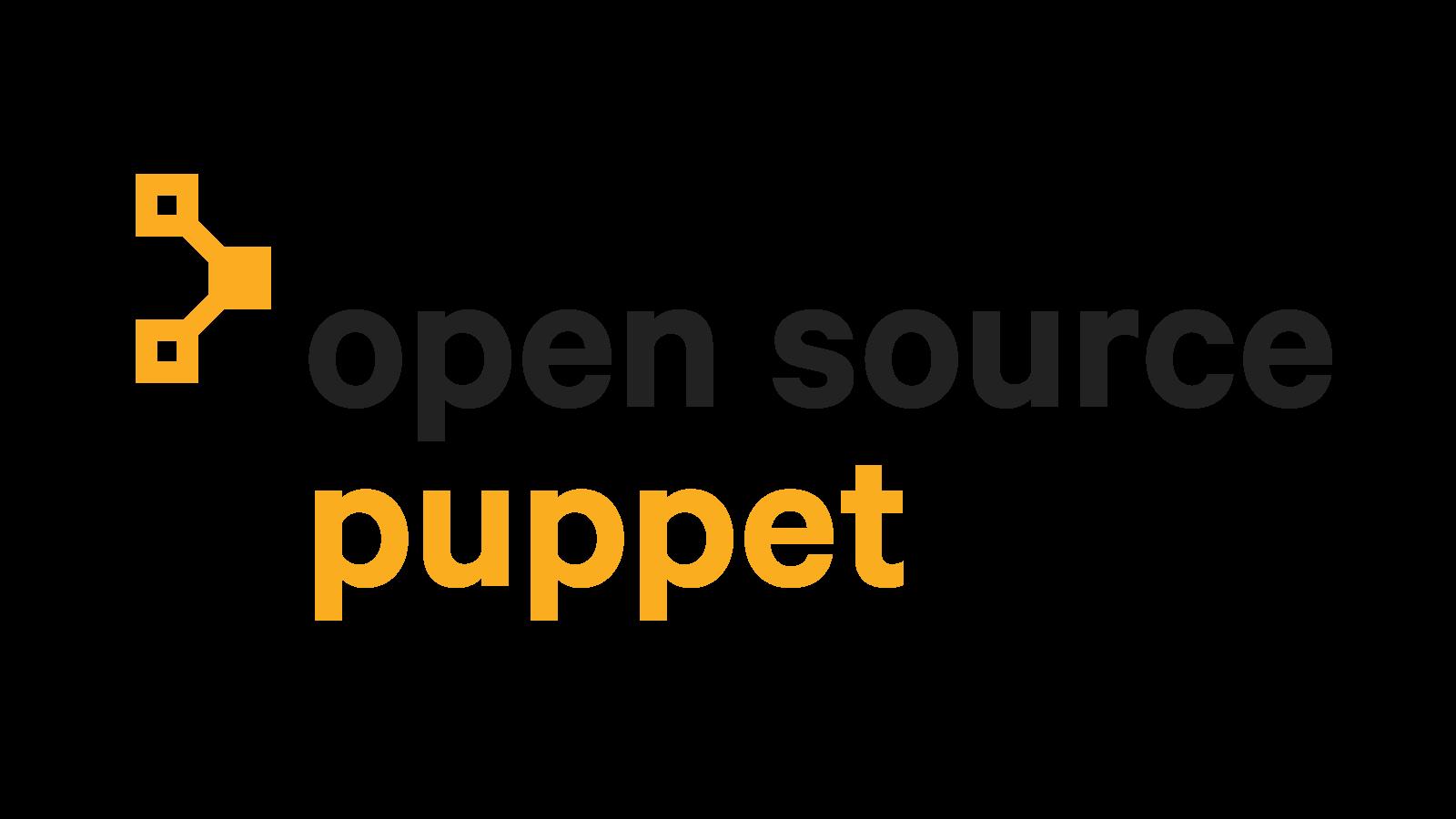 Open Source Puppet logo
